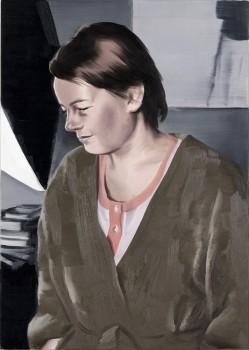 1) Szlafrok (Bathrobe ) 73 x 52 cm 2009