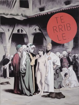4) Terrible (J.L.Gerome The Slave Market 1860) 170x130cm 2010