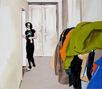 6) Clothes 140x160 cm 2009