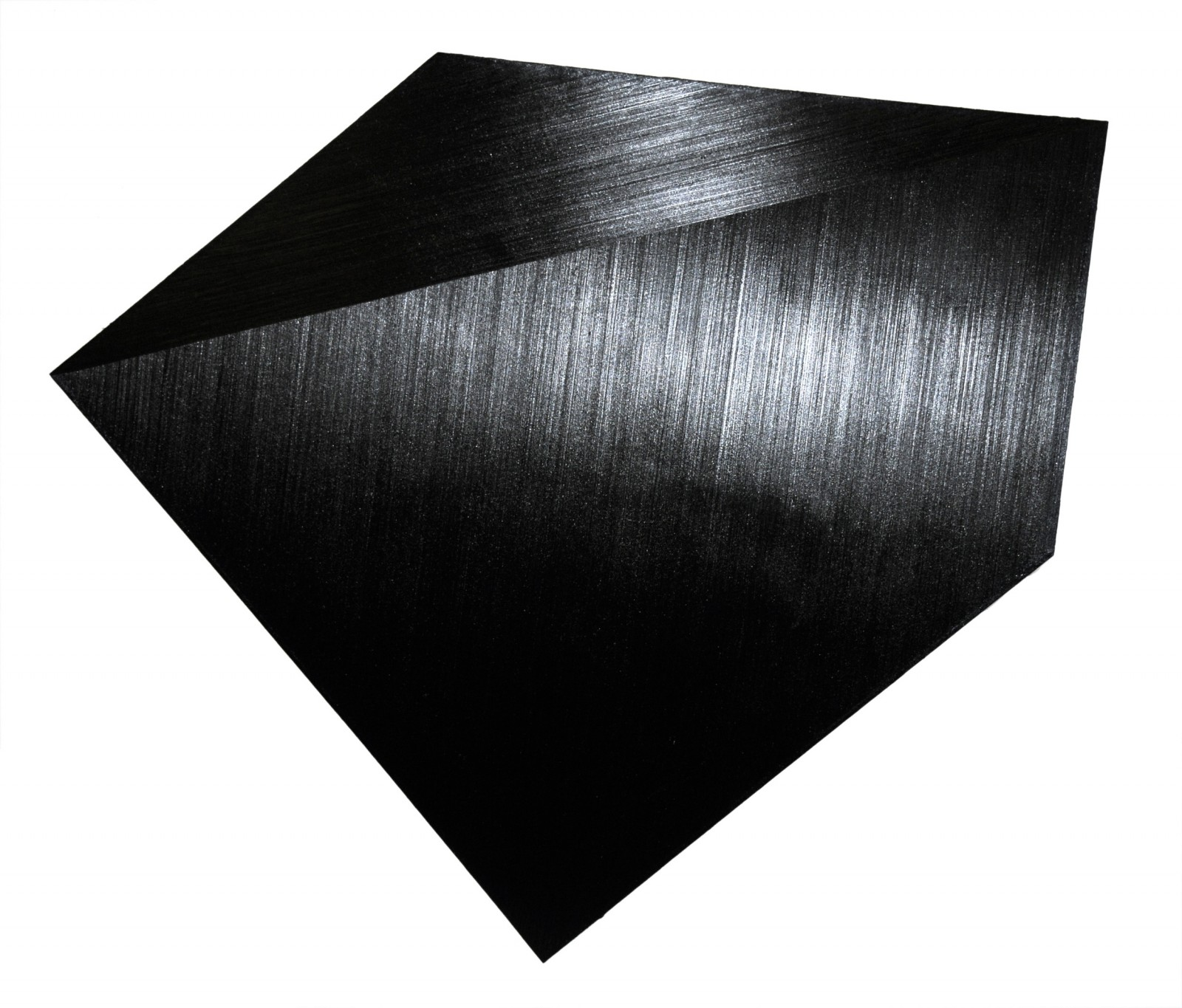 Black. Pentagon (8), 2008, oil on canvas, 171 x 201 cm