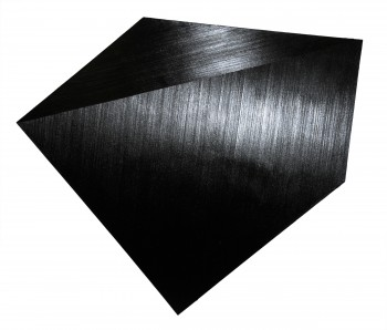 Black. Pentagon (8), 2008, oil on canvas, 171 x 201 cm