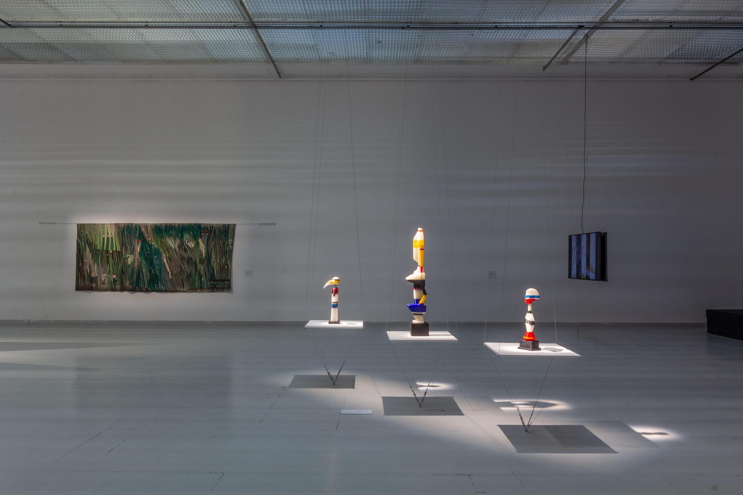 widok wystawy: The Endless Frontier, Centrum Sztuki Współczesnej w Wilnie